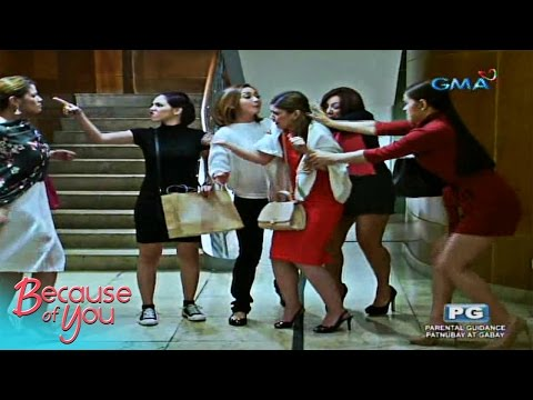 Because of You: Intense catfight