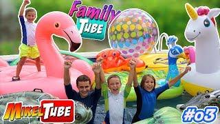 FamilyTube #03 24 min. en la piscina de lava Video