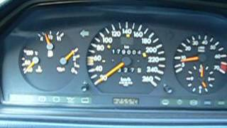 Mercedes Benz C124 E320 M104 722 503 - cold start