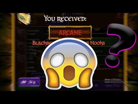 ARCANE LEGENDS | OPENING 300 GOLDEN PIRATE CHEST II | 2M GIVEWAY