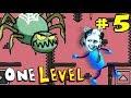 КАК СБЕЖАТЬ ИЗ ТЮРЬМЫ в игре One Level 2 5 ЛАБИРИНТ Злая ПЧЕЛА и ПУШКА ЛеТсплей от ПАПЫ ДОЧЕК