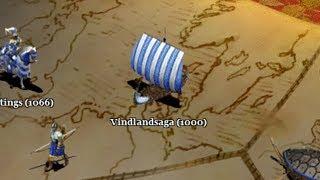 Age of Empires II: The Conquerors Campaign - 4. Battles of the Conquerors - Vindlandsaga (1000)