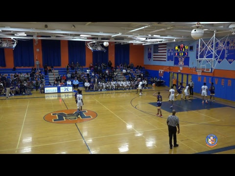 Malverne Boys Varsity Basketball vs Academy Charter School - 01/02/2019