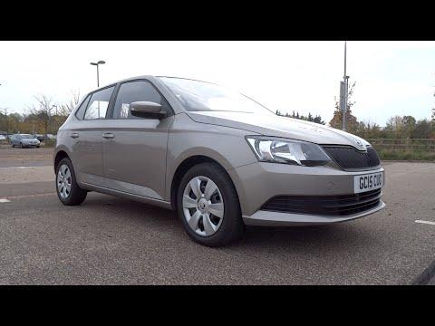 2015 Škoda Fabia 1.0 MPI 60 S Start-Up and Full Vehicle Tour