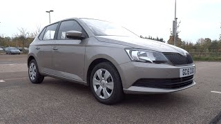 2015 Škoda Fabia 1.0 MPI 60 S Start-Up and Full Vehicle Tour