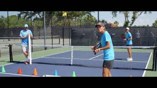 Pickleball Tutor Tips: How to Practice Recovery on Lobs