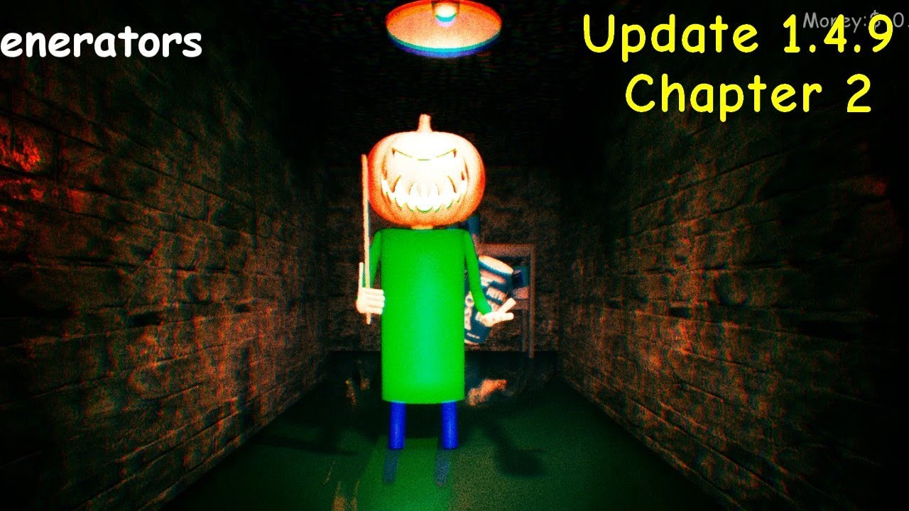 Halloween Update - Baldi's Unreal Basics in Education and Learning 1.4.9 (Chapter 2) #1