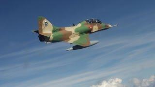 A4 Skyhawk - Low Level Flying