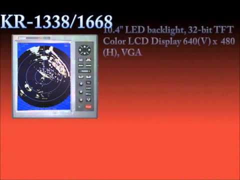 Marine RADAR - KR-1338C/1668C