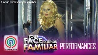 "Your Face Sounds Familiar: Maxene Magalona as Paris Hilton - ""Stars Are Blind"""