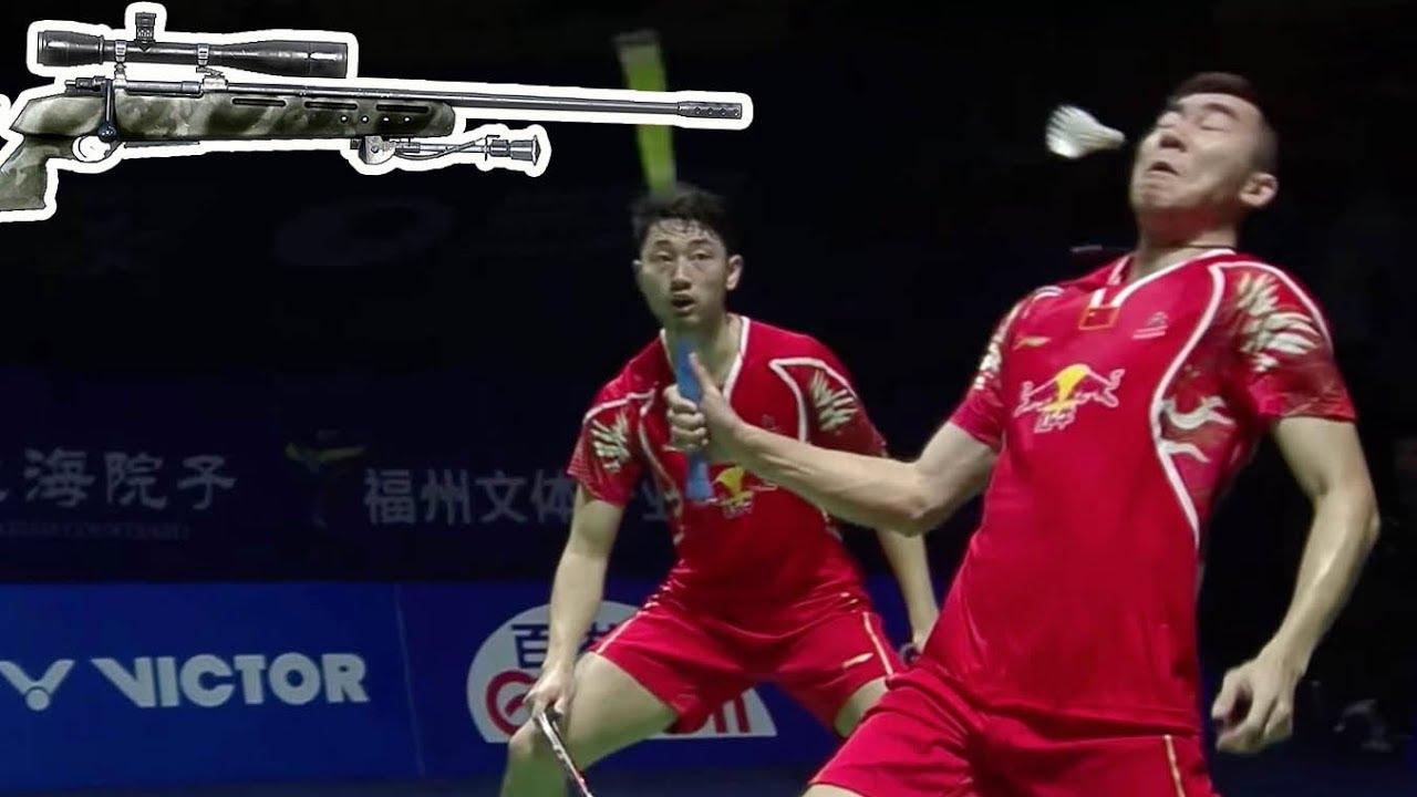 10 Lethal Badminton HEADSHOTS
