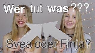 Wer tut WAS?? Finja oder Svea? I Finja and Svea