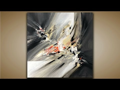 Abstract Painting / DEMO 72 / Abstract Art / How to Paint / Blending / Painting Techniques