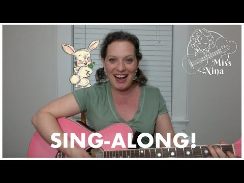 Children's Song: Peter Cottontail - Easter Song for Kids - Preschool Sing-Along
