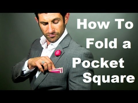 How To Fold Pocket Square Easy Ways To Fold Pocket Square