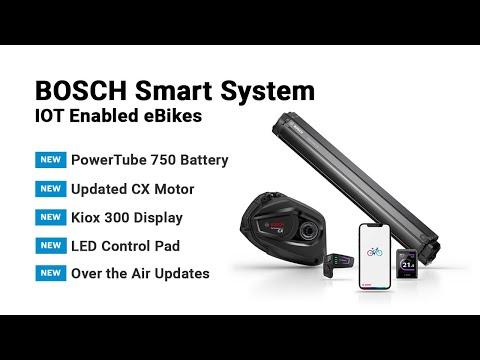 Bosch Smart System, eBike Flow App, PowerTube 750