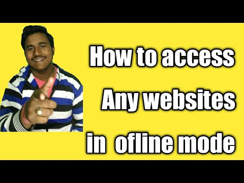How to easily access internet on ofline mode|general knowledge by Sourav |