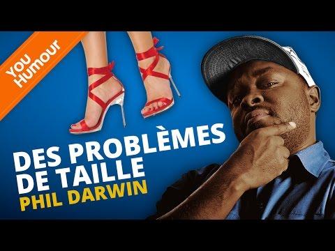 PHIL DARWIN - Des problèmes de taille