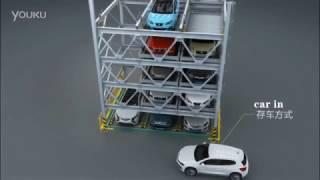 5 levels puzzle car parking system tada auto parking