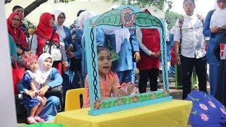 Azufi  Jadi Suporter Yaya Saat Lomba Telling Story Se-Provinsi Jawa Barat Di Bandung