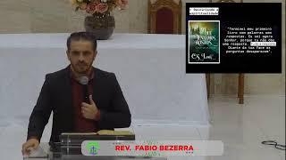 LIVE / IPMN -ESTUDO  BIBLICO -  TEMA : ESPIRITUALIDADE DA SUPERFICIALIDADE AO PROPÓSITO. REV. FABIO