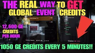 THE REAL WAY TO GET GE CREDITS FAST 1050 PER 5 MINUTES