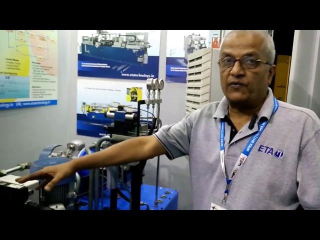 Herr Satish, Geschäftsführer, ETA Technology @ IMTEX 2017