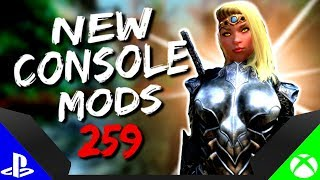 Skyrim Special Edition: ▶️5 BRAND NEW CONSOLE MODS◀️ #259 (PS4/XB1/PC)