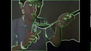 Tajin Challenge with a big black spoon ;)