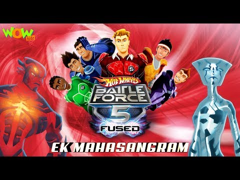 Motu Patlu presents Hot Wheels Battle Force 5 - Ek Mahasangram - Movie in Hindi
