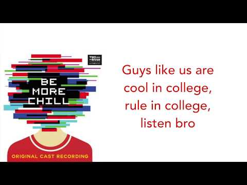 Be More Chill | Two-Player Game LYRICS