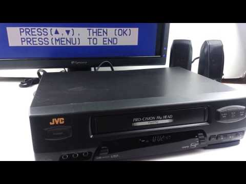 JVC HR-VP650 VHS VCR Video Cassette Tape Player BROKEN HEADS FOR PARTS/REPAIR Ebay Showcase Sold!