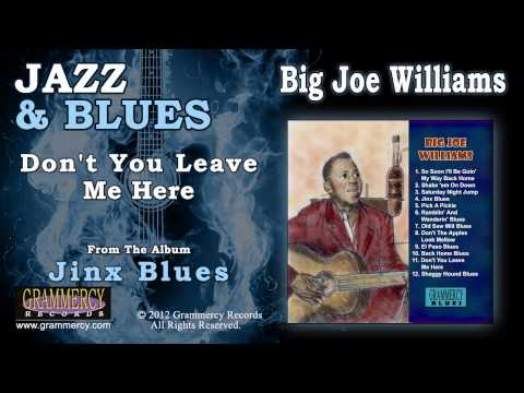 Big Joe Williams - Don't You Leave Me Here