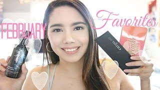 FEBRUARY FAVORITES 2017 | MAKEUP, SKINCARE AND MORE | BECKYMORFIN