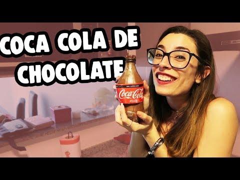 HICE UNA COCA COLA DE CHOCOLATE