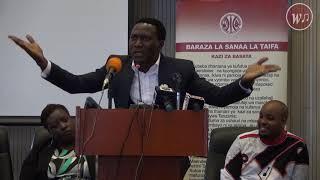 Masanja Mkandamizaji akieleza dukuduku lake kwa Dr Harison Mwakyembe Jinsi Anavyoibiwa kazi zake