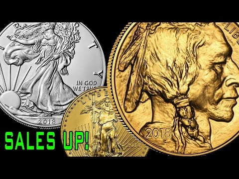 US Mint Gold & Silver Bullion Sales UP! What About Platinum?