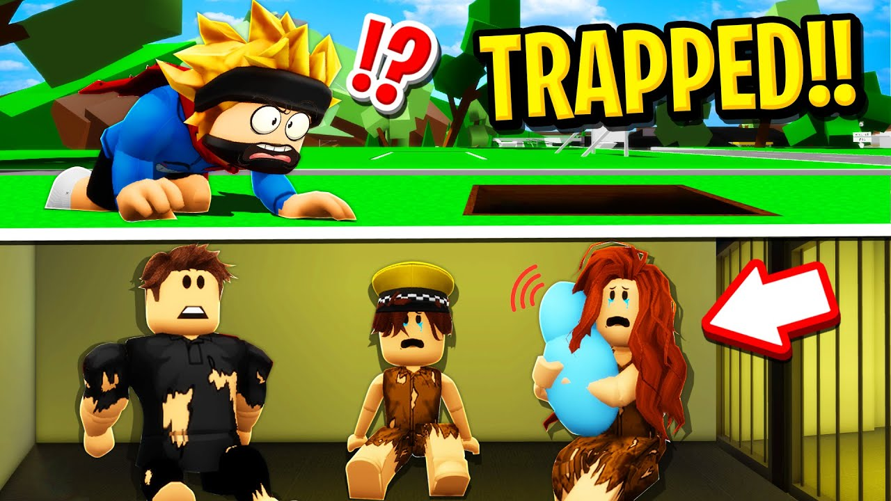 Download RICH FAMILY Trapped POOR FAMILY in Roblox BROOKHAVEN RP!!