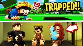 RICH FAMILY Trapped POOR FAMILY in Roblox BROOKHAVEN RP!!