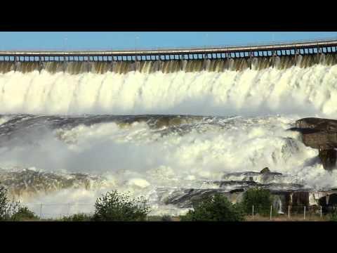 Ryan Dam on the Missouri River near Great Falls, Montana