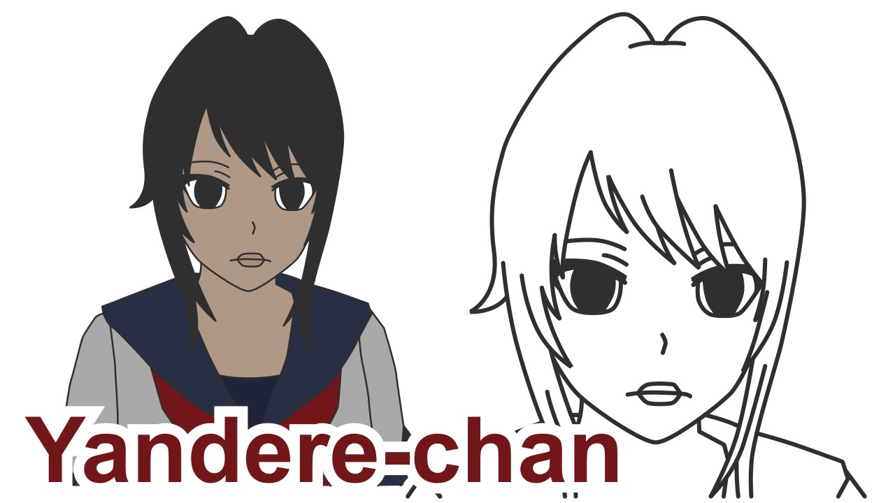 How to draw yandere chan female student from yandere simulator how to draw yandere chan female student from yandere simulator youtube ccuart Image collections