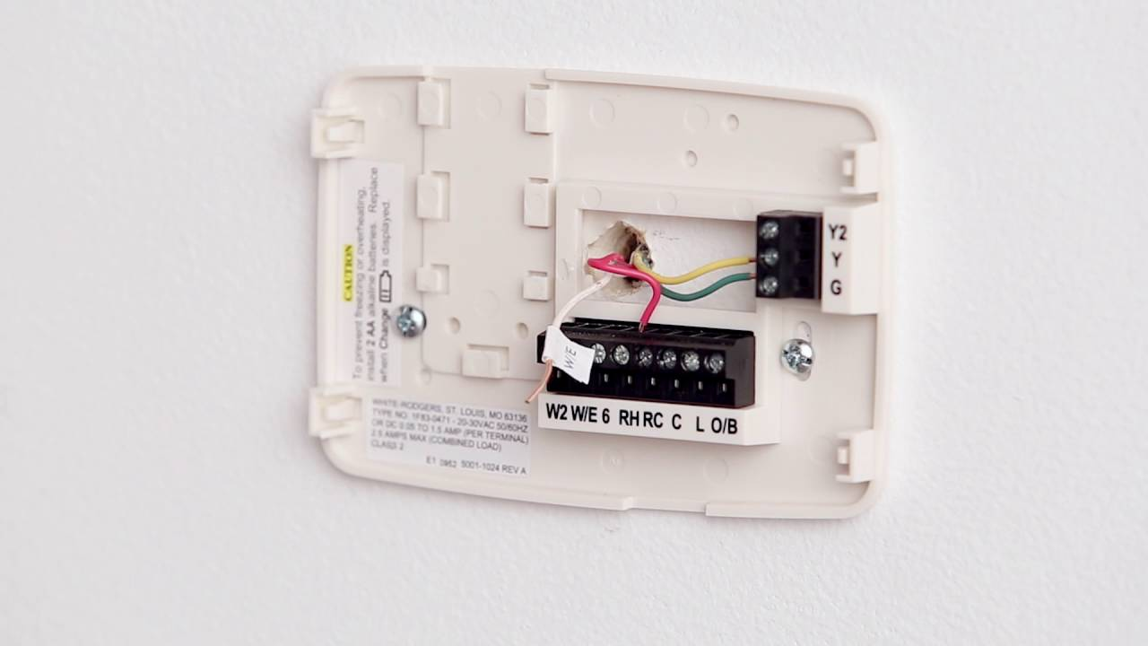 Sensi Thermostat  Installation Overview  YouTube