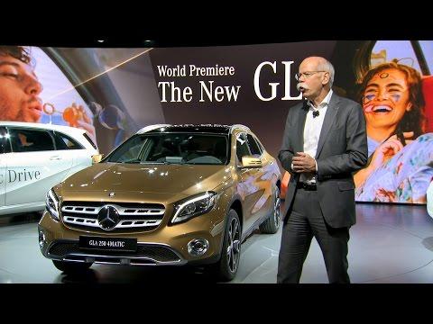 Mercedes-Benz GLA revealed at the 2017 Detroit Motor Show