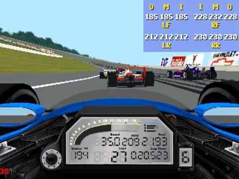 IndyCar Racing 2  Michigan RACE  YouTube