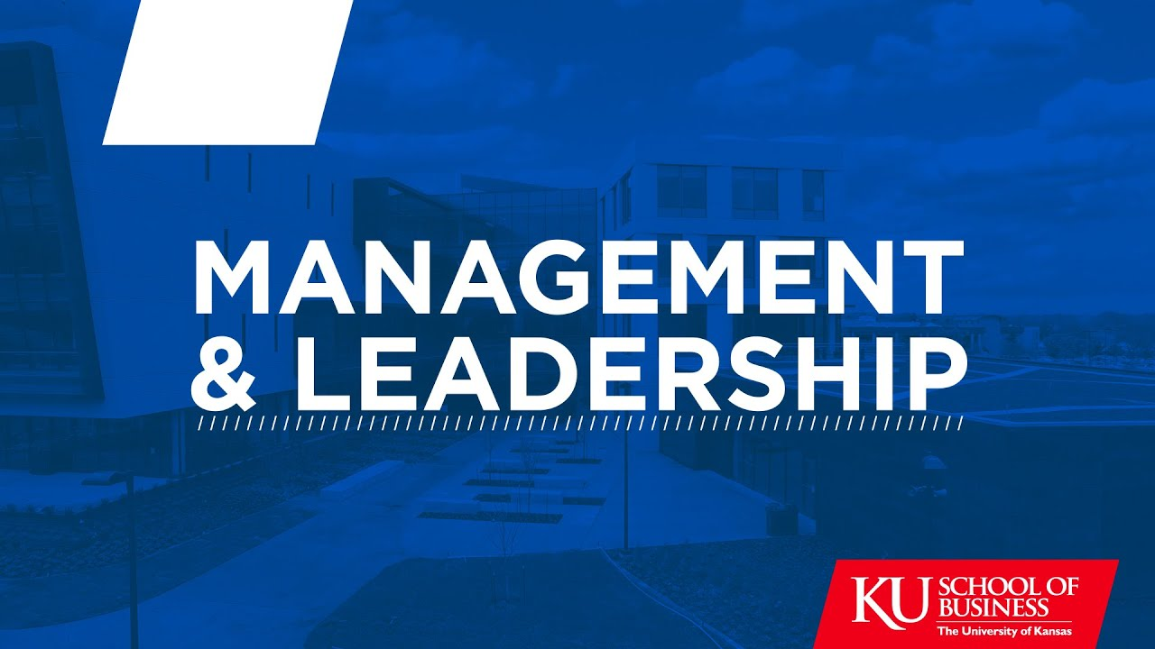Majoring In Management And Leadership At The Ku School Of Business Youtube