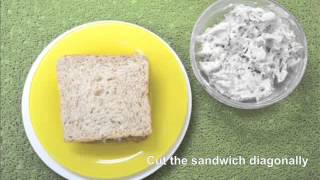 Gardenia Bread Treats in Motion: Chicken and Bacon Sandwich