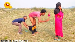 Non-stop Video Must Watch Funny Comedy Video 2021 TRY TO NOT LAUGH || By Bindas Fun Masti