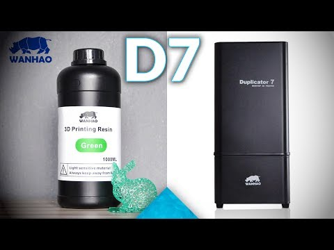 DLP alternative: Unboxing the WANHAO Duplicator 7, an LCD-based resin SLA 3D printer!