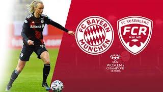 FC Bayern - FC Rosengård 3:0 | Re-Live | UEFA Women's Champions League #UWCL