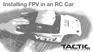 Tactic FPV Y Cable Tx to Video and Power Plugs Video